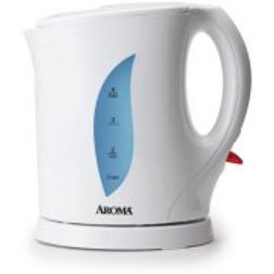 Aroma 1.0 L Electric Kettle, White