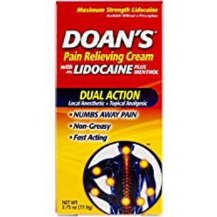 Doan's Pain Relieving Cream, 2.75 Ounce  Doans
