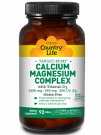 Country-Life,Calcium Magnesium Complex with Vitamin D3
