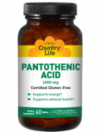 Country-Life,Pantothenic Acid 1000 mg