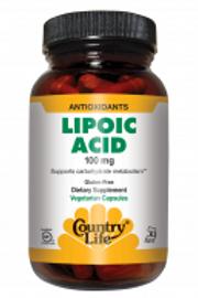 Country-Life, Lipoic Acid 100mg