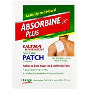 Absorbine Jr. Ultra Strength Pain Relief Patch  Absorbine Jr