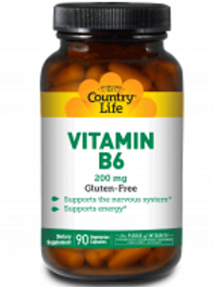 Country-Life,VITAMIN B-6 200 MG