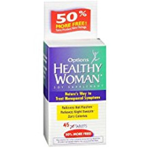 HEALTHY WOMAN SOY SUPPLEMNT TB 45  EMERSON HEALTHCARE
