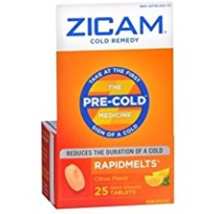 Zicam Cold Remedy RapidMelts Citrus Flavor 25 EA
