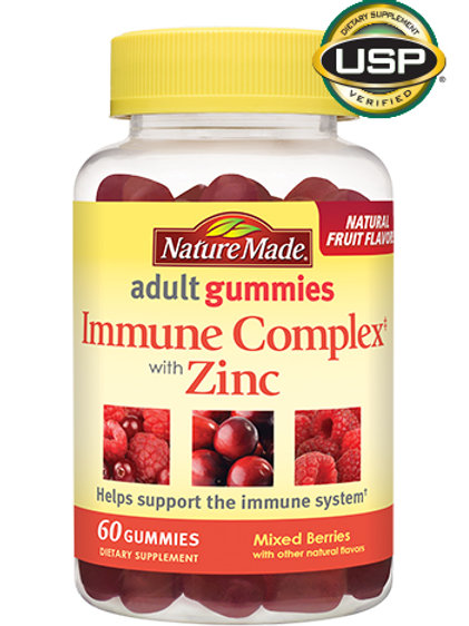 Immune Complex with Zinc Adult Gummies
