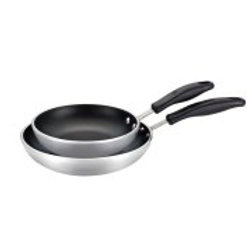 Farberware Commercial Nonstick 8.25-Inch and 10-Inch Twin Pack Open Skillet Set