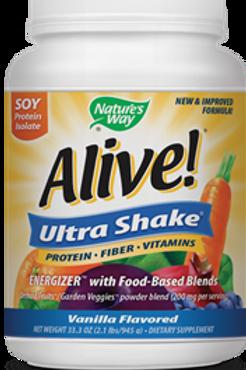 Nature's Way Alive! Soy Protein Shake Vanilla 33.3oz