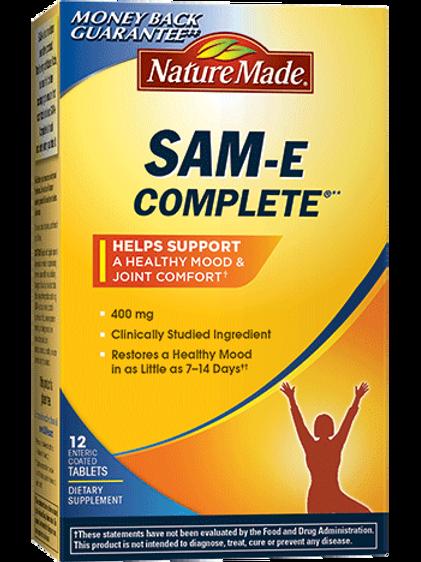 SAM-e Complete 400 mg Tablets