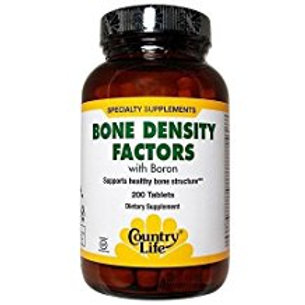 Country-Life,BONE DENSITY FACTORS® with Boron (200-Tablet)