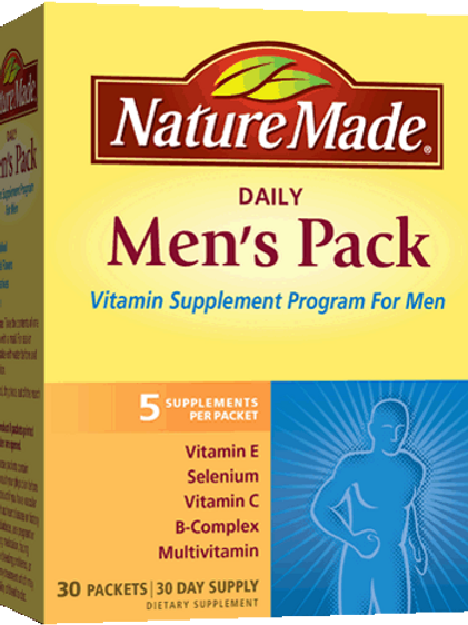Men's Pack Packets (various forms)