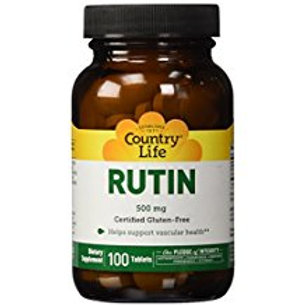 Country-Life, Rutin 500 mg(100-Tablet)