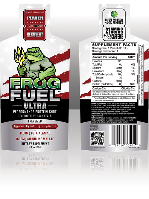 FrogFuel Ultra Energized Protein - 24 Count