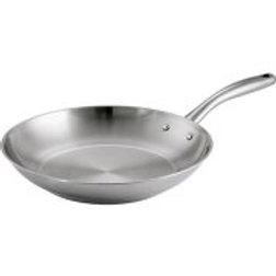 "Tramontina 12"" Gourmet Tri-Ply Base Frying Pan, Stainless Steel"