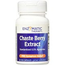 Enzymatic Therapy Chaste Berry Extract Capsules, 60 Count