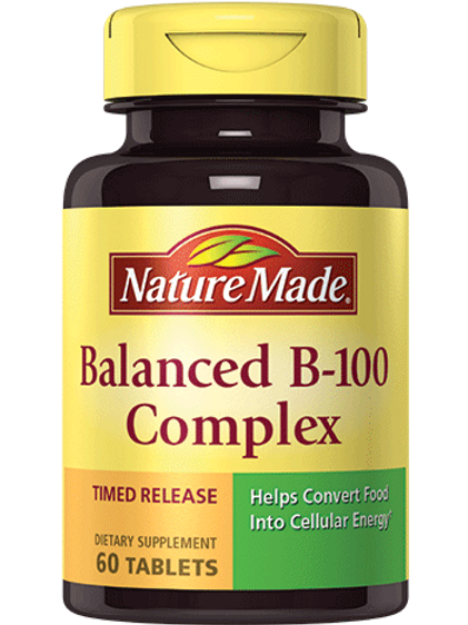 Balanced B100 Timed Release Tablets