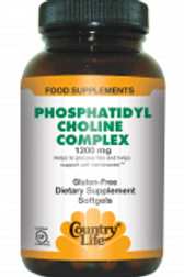 Country-Life,Phosphatidyl Choline Complex 1,200 mg (200-Softgel)