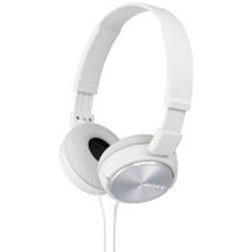 sony MDRZX310-WQ Foldable Headphones - Metallic White