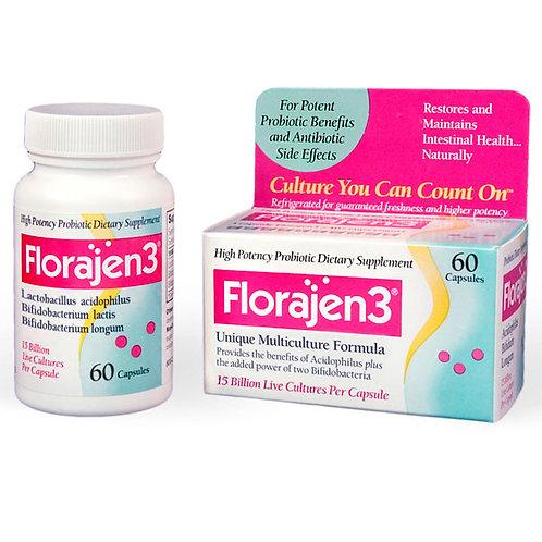 FLORAJEN3 HIGH EFFICIENCY PROBIOTICS 60 CAPSULES