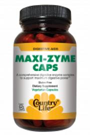 Country-Life, MAXI-ZYME™ Extra Strength (120-Vegicaps)