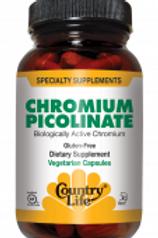 Country-Life,Chromium Picolinate 200 mcg