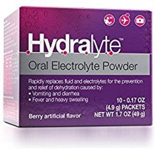 Hydralyte - Oral Electrolyte Powder, On-the-go Hydration Formula (Berry, 10 Coun