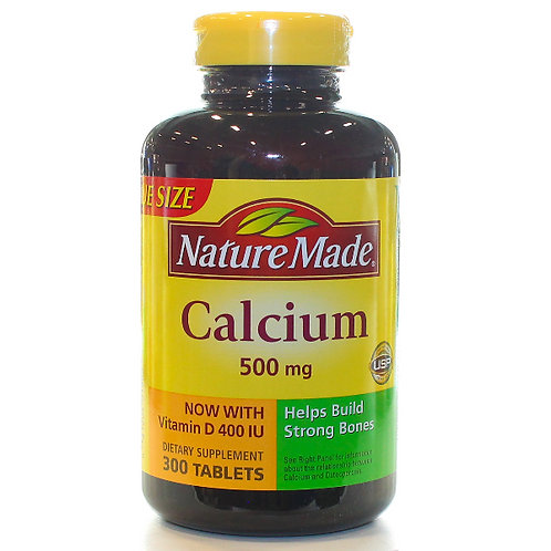 Calcium 500 mg with Vitamin D Tablets