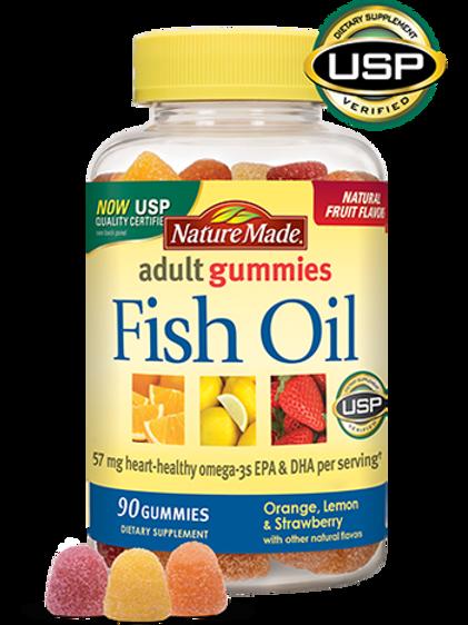 Fish Oil Adult Gummies