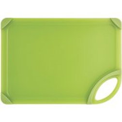 "Farberware 10"" x 14"" Nonslip Cutting Board Translucent, Green"