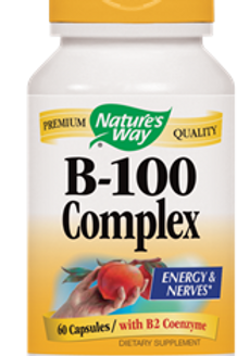 Nature's Way B 100-Complex, 60 Capsule