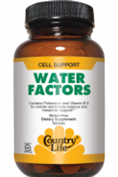 Country-Life,Water Factors™ (90-Tablet)