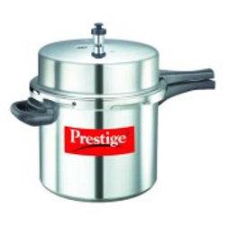 Prestige Popular Aluminium Pressure Cooker,12-Liter