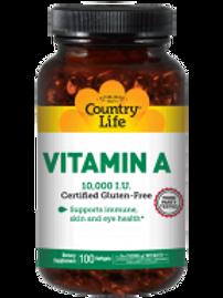 Country-Life,Vitamin A 10,000 I.U. Units