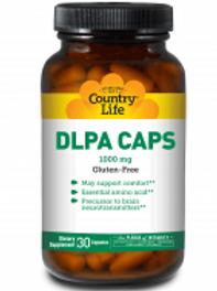 Country-Life, DLPA 1000 MG with Vitamin B-6