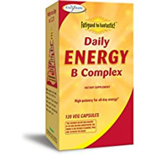 Enzymatic Therapy Fatigued to Fantastic Daily Energy B Complex Vegetarian Capsul