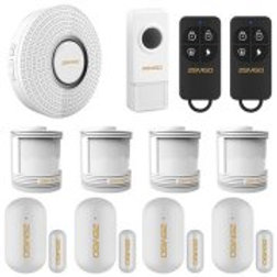 ZEMGO FPC-6468 Smart Home and Business DIY Wireless WiFi APP enabled Security In