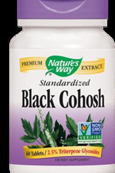 Nature's Way Black Cohosh Standardized 60 Veg Capsules