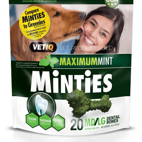 MINTIES MAXIMUM MINT MD/LG