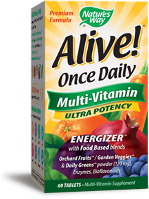 Nature's Way Alive! Once Daily Multi-Vitamin