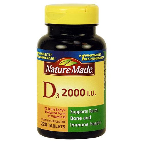 Vitamin D3 2000 IU Tablets