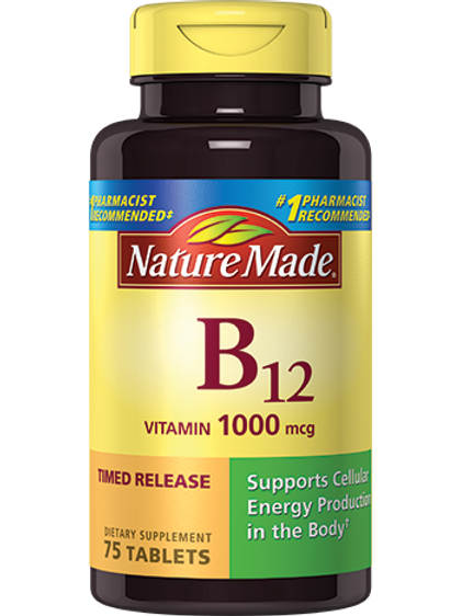 Vitamin B12 1000 mcg Timed Release Tablets