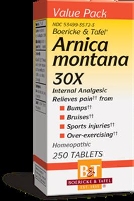 Boericke & Tafel Arnica Montana 30X  250-Tablets