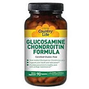 Country-Life,Glucosamine/Chondroitin Formula (90-Vegicaps)