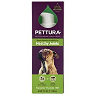 Pettura - Healthy Joints, Liquid Dog Supplements, Boosts Flexibility & Mobility