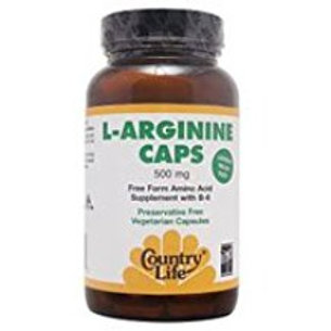 Country-Life, L-ARGININE 500 MG with Vitamin B-6