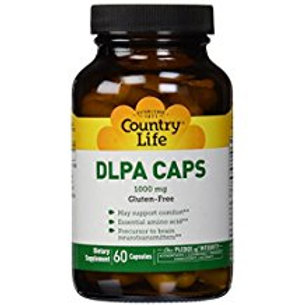 Country-life, DLPA 1000 MG with Vitamin B-6