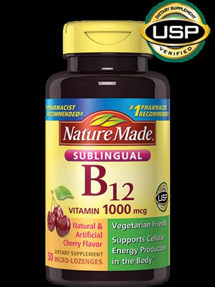Vitamin B12 Sublingual 1000 mcg Lozenges