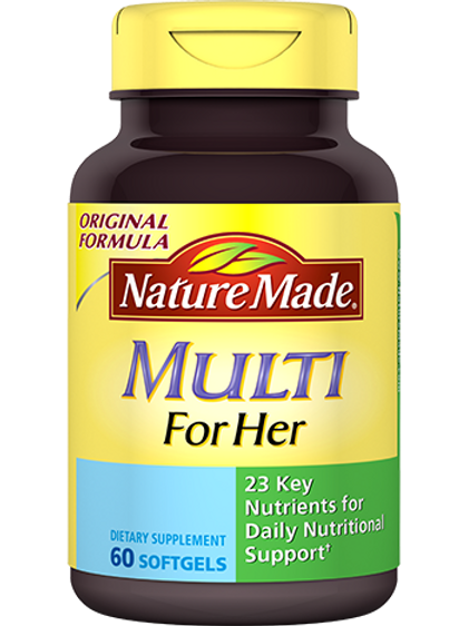 Multi For Her Liquid Softgels