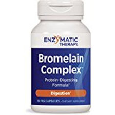 Enzymatic Therapy Bromelain Plus, 90 Capsules
