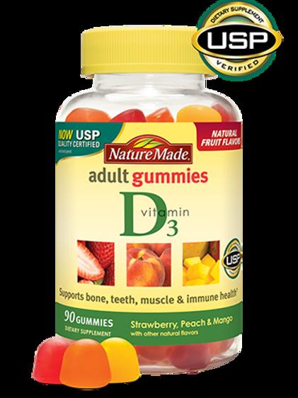 Vitamin D3 Adult Gummies